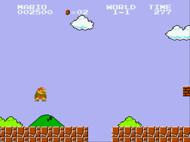 Super Mario Bros - Genesis - push ups - User Screenshot